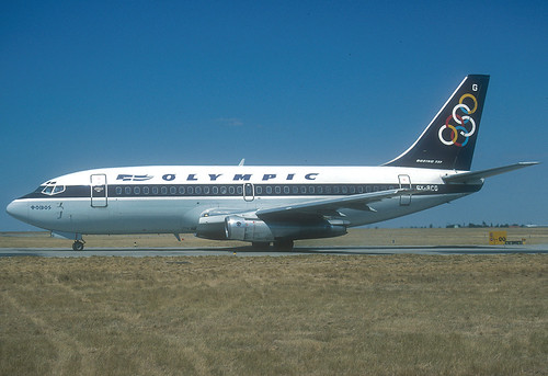 Olympic Airways, SX-BCG, 284, 1992, CDG