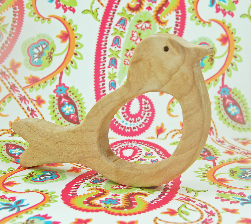 Little Birdie Teething Ring