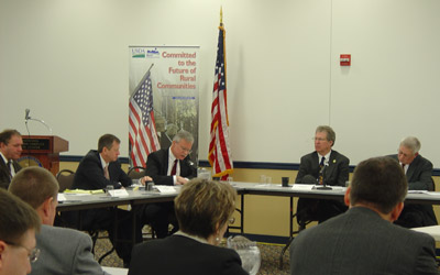 Pennsylvania Officials at a recent Jobs Roundtable Event hosted by USDA's Rural Development and Farm Service Agency.