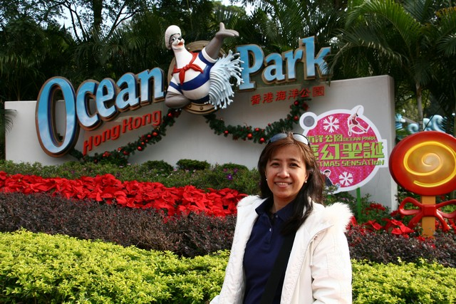 Ocean Park entrance