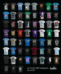 All wotto tees 2009 (WOTTO*) Tags: fashion clothing all designer shirts eep tee tshirtdesign 2009 apparel tees wotto craigwatkins wwwwottoartcom