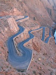The Infamous Dads Gorges Hairpins (Miss Loi) Tags: morocco dads