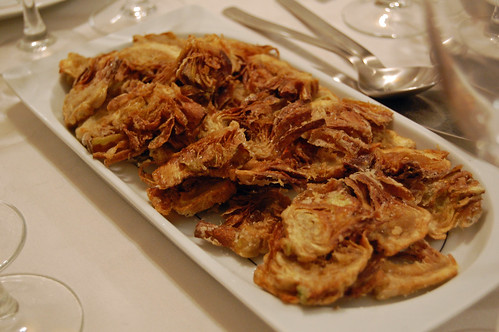 Fried Sliced Artichokes