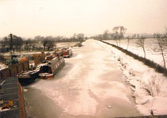Yardley Gobion Canal Bridge 1981