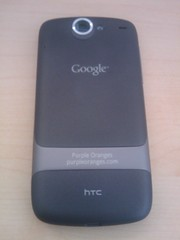 The Back of the Nexus One
