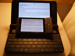 PC-Z1 Netwalker vs HTC Hero as ebook reader