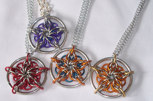 Chainmaille Celtic Stars