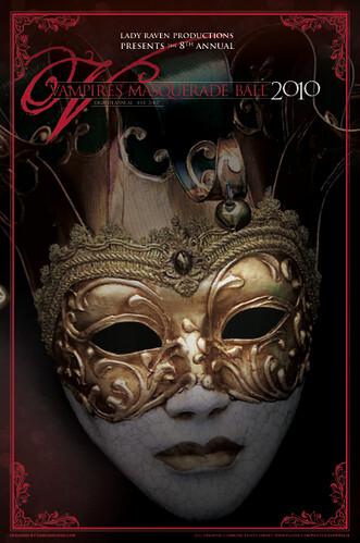 2010 Vampire Ball flyer front