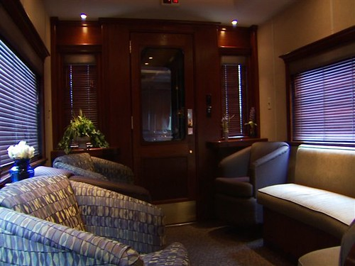 Private Rail Car - Northern Dreams, lounge
