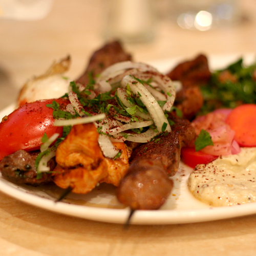 lebanese mixed plate (16/365)