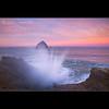Cape Kiwanda - 2010 (Jesse Estes) Tags: oregon sunrise waves capekiwanda jesseestes jesseestesphotography