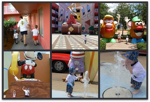 Birthday fun at Pop Century Resort