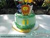 Jungle Animals (SweetnessBakeshop) Tags: green cakes yellow monkey cupcakes miami lion safari jungle zebra 305 buttercream gumpaste