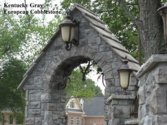 "Kentucky Gray European Cobblestone Archway • <a style=""font-size:0.8em;"" href=""http://www.flickr.com/photos/40903979@N06/4287622481/"" target=""_blank"">View on Flickr</a>"