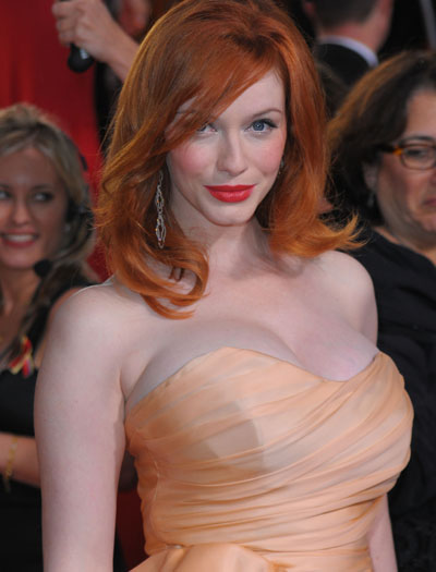 Christina Hendricks - Globes2