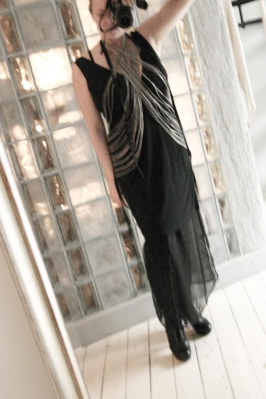 DIY Ann Demeulemeester zipper vest by The Door In My Wardrobe 2