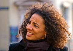 Curly Hair (Hanjosan) Tags: street portrait woman girl copenhagen hair nikon candid curly