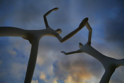Dancing Statues by dixie_law, on Flickr