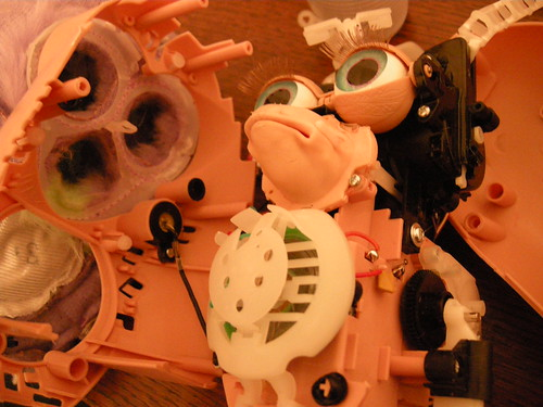 Furby innards revealed