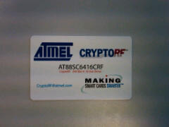 CryptoRF card