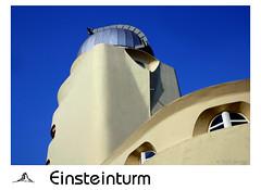 Einsteinturm (alias URBAN ARTefakte) Tags: 2005 einstein potsdam brandenburg telegrafenberg einsteinturm