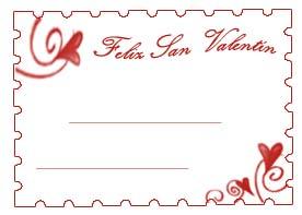tarjetas para regalos de san valentin