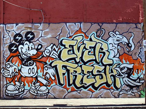 Everfresh Crew Mickey Mouse Mural
