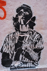 Hong Kong Warrior (jillmazur) Tags: wall hongkong nikon grafitti naturallight warriors spraypaint nikkor d60 flickrcolour 1685mmf3556gvr