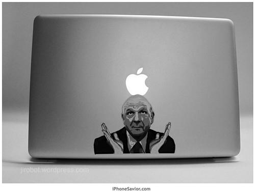 "Steve Ballmer ""Applesoft"" Macbook Pro Worship"