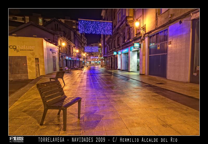 Torrelavega - Calle Hermilio Alcalde del Río - Navidades 2009