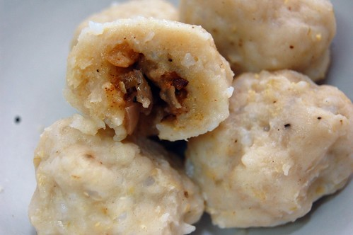 African Inspired Rice Dumplings