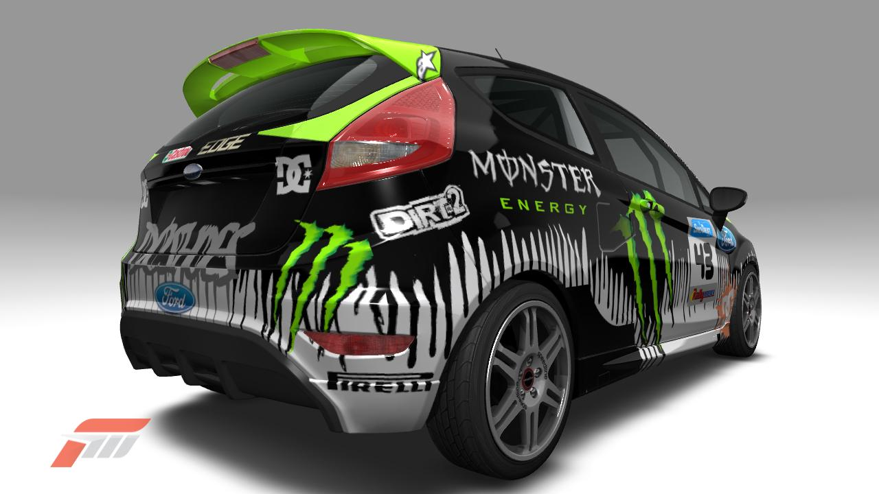 MONSTER ENERGY FORD FIESTA