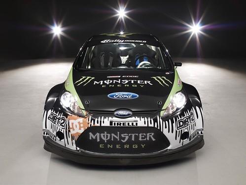 Ken Block's 2010 Monster World Rally Ford Fiesta