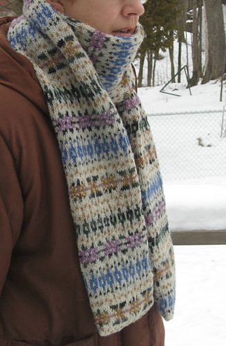 Ravelry: Hermione's Scarf pattern by Freshisle Fibers