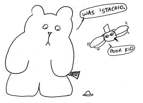 366 Cartoons - 363 - 'Stachio