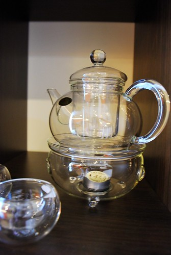 clear glass teapot teaset 1