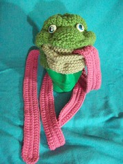 101_1014 (CrazyHatSociety) Tags: charity green animals yellow haiti hats frogs giraffes etsy donations ravelry crazyhatsociety crazyhatsocietyetsycom