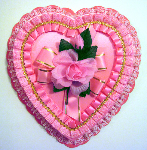 Pink Heart Candy Box