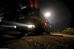 Optimus 'Fire Truck' (Adon Buckley) Tags: rescue creek truck fire lights bush engine australia bull hose perth western suburbs flashing emergency buckley bullcreek adon
