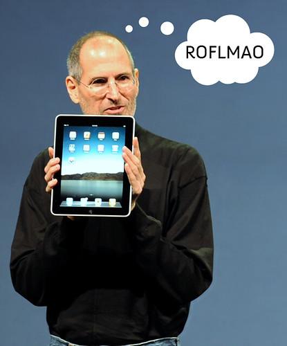 iPad ROFLMAO