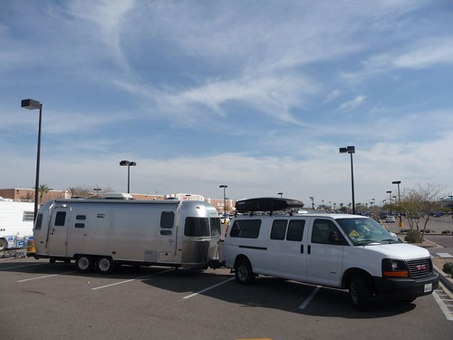 Tempe Arizona Walmart Parking Lot Camping