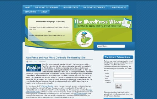 The WordPress Wizard
