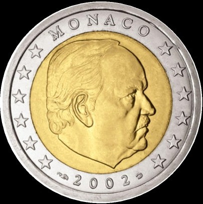 2 Euro Monaco 2002