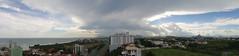 Panorâmica de Macaé - Nuvens (Gladstone P. Moraes) Tags: brazil cloud brasil riodejaneiro panoramic nuvem macaé panorâmica