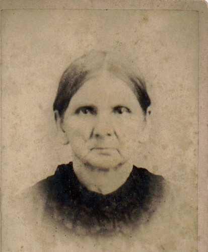 My great great Grandmother (Creeger) Hoover