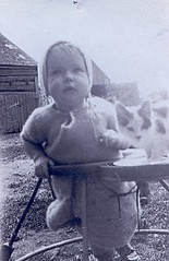 Mary Bowrin and her Cat (Brian Bowrin) Tags: road 1920s ontario cat vintage brian mary richmond 203 goodstown bowrin