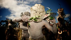 Mysterious Mud Men (Dave Schreier) Tags: new festival guinea mt tribal papua hagen