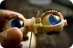 Nutmeg's eyemech - 39/365
