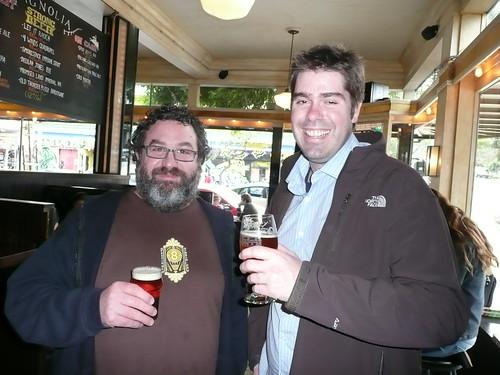 Dave McLean & Rich Higgins at Magnolia