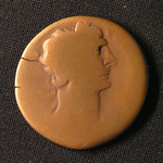 "<b>92 Obverse</b><br/> <a href=""http://en.wikipedia.org/wiki/Domitian"" rel=""nofollow""><u><b>Domitian</b></u></a> <i>Reign: AD81 - 96</i> The younger brother of Titus and son of Vespasian, Domitian was the third and final ruler of the Flavian dynasty. After Titus' death, Domitian was declared emperor by the Praetorian guard. He expanded Rome's borders and fought wars in Britain and Dacia, modern day Romania. He was popular with the people, but hated by the Senate, and was assassinated by court officials in AD96.  Donated by Dr. Orlando ""Pip"" Qualley<a href=""http://farm5.static.flickr.com/4047/4351073601_b41a155fa5_o.jpg"" title=""High res"">∝</a>"